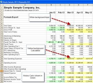 Sample DIsposable Spreadsheet